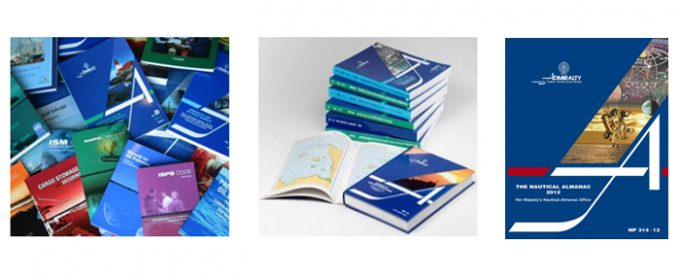 Nautical charts and publications