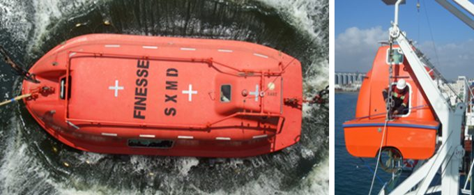 Lifeboat and davits services